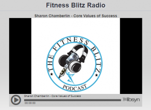 fitness blitz radio podcast