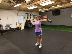 standing lateral raises