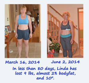 linda_carlson_progress_comparison_june_2014