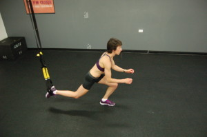 Sharon Chamberlin Lunging