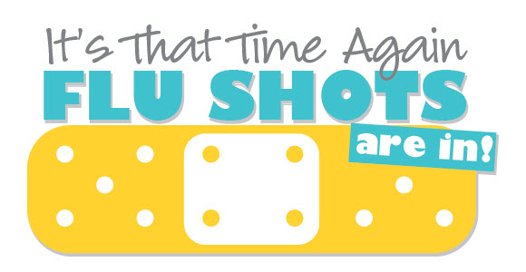 it's that time again flu shots are in sign