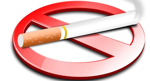 cigarette with a no symbol