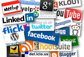 images of social media logos