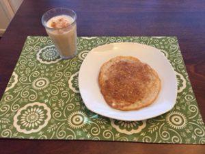 pumpkin spice pancake