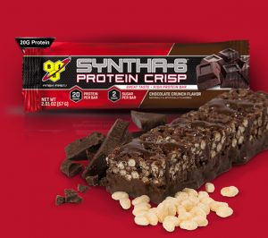 bsn syntha-6 chocolate crunch protein crisp bar