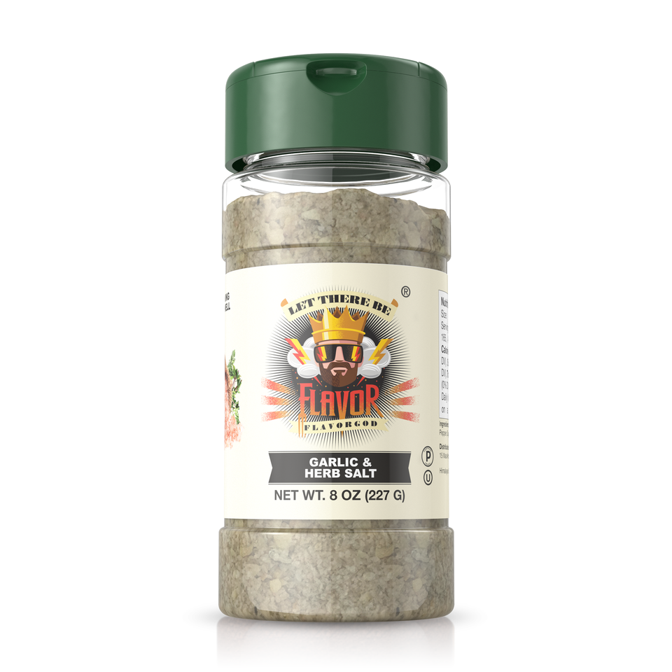 garlic and herb salt seasoning