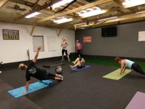 metabolic explosion training class