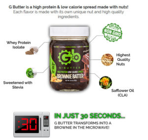 g butter ingredient overview