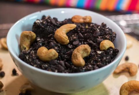 cocoa cashew ice cream