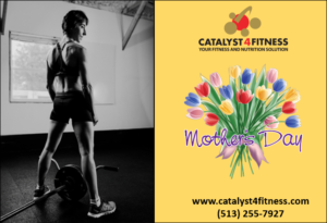 mothers day gift certificate for Catalyst 4 Fitness