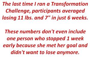 transformation challenge successes