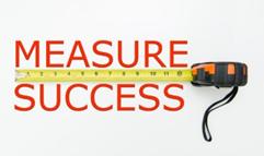 measure success with tape measure