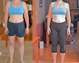 linda carlson before and after front view