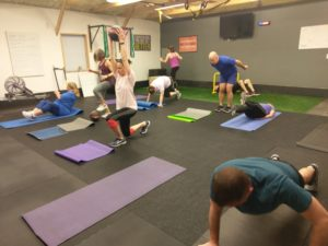 hiit small group fitness class in catalyst 4 fitness studio