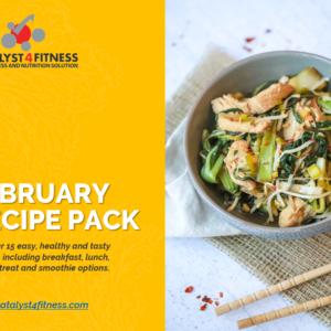 february 2021 recipe pack cover