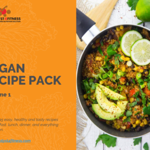 vegan recipe pack volume 1 cover