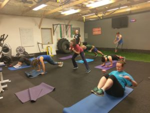 metabolic explosion training small group fitness class in catalyst 4 fitness studio