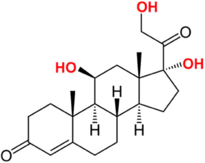 cortisol chemical appearance