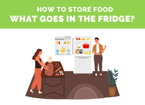 how to store food cover