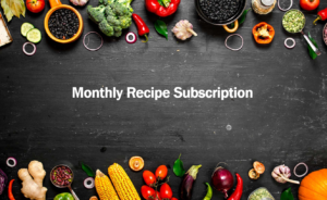 monthly recipe subscription