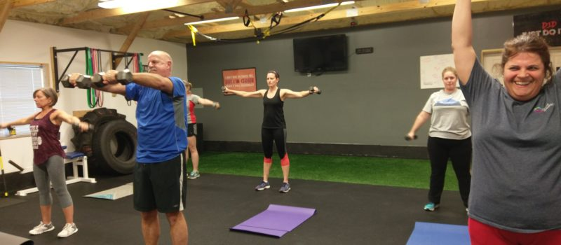 resistance training exercise class