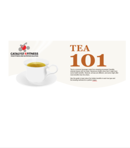Tea 101 cover page